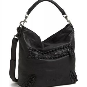 Liebeskind Greta Knot Leather Hobo Bag